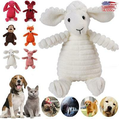 Funny Soft Pet Puppy Chew Play Animal Squeaky Cute Plush Sound For Dog Chew Toys