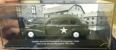 Cadillac Series  74 Fleetwood V8 Limousine - 1939 15th Army (Patton Museum) USA