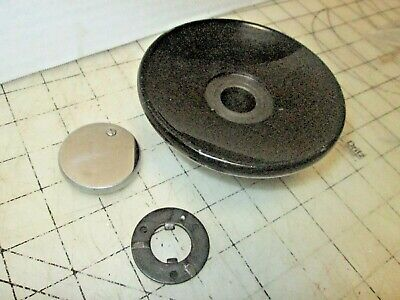 Singer Sewing Machine 15-91 Chrome Edge Balance Wheel, Stop Knob, Clutch, Gear