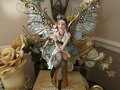 11 inch STEAMPUNK fairy figurine by Pacific Giftware Brand New in Box!
