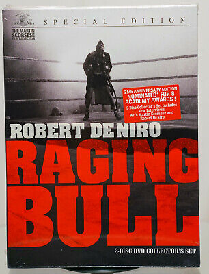 Raging Bull (2-disc DVD, 1980, Widescreen) Special Edition New Unopened
