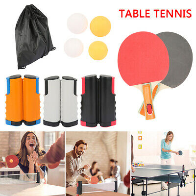 Retractable Replacement Set Games PingPong Table Tennis Portable Net Kit Indoor