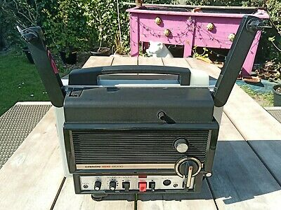 Super 8 Sound Film Projector Chinon 8000