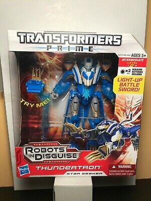 Transformers Prime Robots in Disguise RID Thundertron Voyager Class Misb