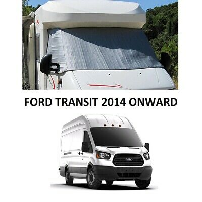 Motorhome External Thermal Screen Cab Windscreen Cover Ford Transit 2014 ON