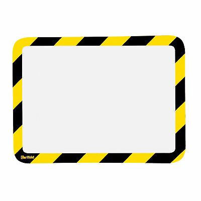 Tarifold Document Display Holder - Yellow/Black, 10in.L x 12in.W, Model# P194994