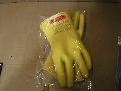 Salisbury Yellow Electrical Gloves Class 0 Size 10 D120 Type 1