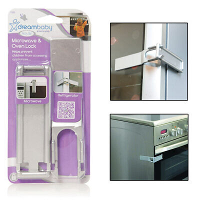 Dreambaby Microwave Oven Safety Lock Childproof Door Locks Baby Kids Appliances