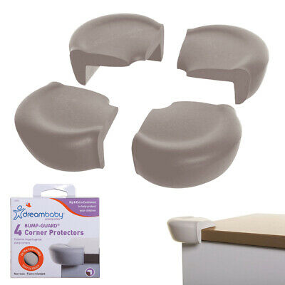 4 Safety Corner Guards Extra Cushioned Baby Proofing Soft Foam Furniture Bumpers