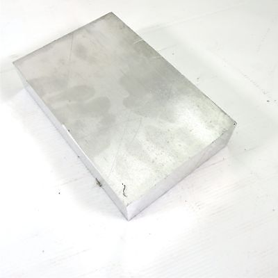 "1.75"" thick 1 3/4  Aluminum 6061 PLATE  5.375"" x 8.5"" Long  sku 137251*"
