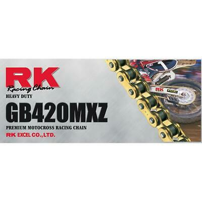 RK Racing Chain 520MXZ4-114 114-Links MX Chain with Connecting Link