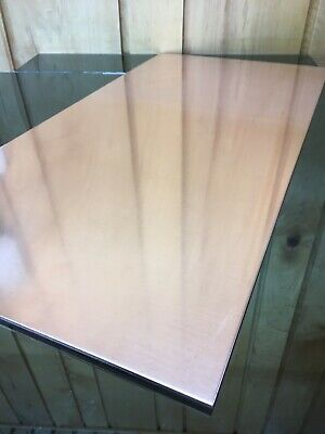 """1/8 COPPER SHEET PLATE NEW 12""""X24"""" .125 Thick *CUSTOM 1/8 SIZES AVAILABLE*"""