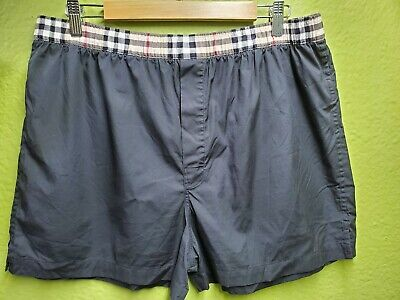 Burberry Men Boxer Underwear Black Large Size XL. Pre Owned. Fast Shipping!