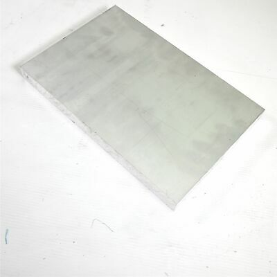 "1"" thick  Aluminum 6061 PLATE  6.375"" x 9.625"" Long  sku 122261"