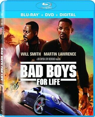 Bad Boys For Life Blu-ray + DVD + Digital 2020 BRAND NEW FAST SHIPPING