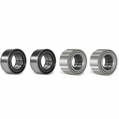 Front and Rear Wheel Bearing Kit for Polaris RZR 800 800-S 800-4 2010-2014(4pcs)