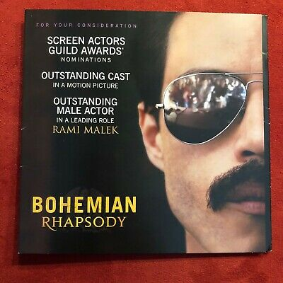 Bohemian Rhapsody: For Your Consideration DVD MOVIE  band Queen-MINT UNWATCHED!!
