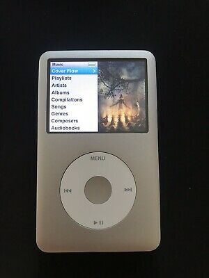 Apple iPod classic 6th Generation Silver (128 GB) (iFlash SSD)