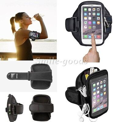 Armband Holder Phone Sports Cover Jogging Cycling Running Arm Case For iPhone