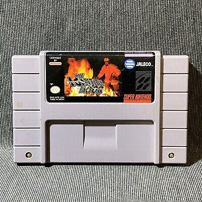 The Ignition Factor Super Nintendo SNES Jaleco Game Cart Only NTSC
