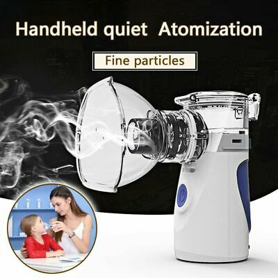 Portable Ultrasonic Nebulize Inhaler Machine Adult Kids Handheld USB/Battary