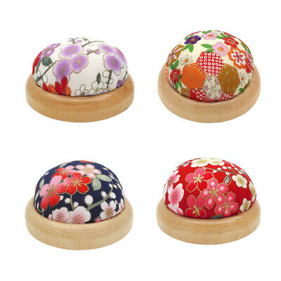 YESMAEA Wrist Pin Cushion Fabric Sewing Needle Pin Cushion DIY Craft Quilting Kit Accessories Pincushions for Sewing,Purple
