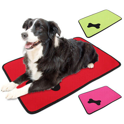 Waterproof Washable Cat Dog Bed Pet Kennel Cushion Mat Crate Cage Pad House NEW