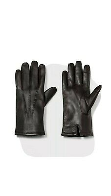 Men's Leather Dress Glove With Thinsulate Lined Gloves Goodfellow & Co Brown XL