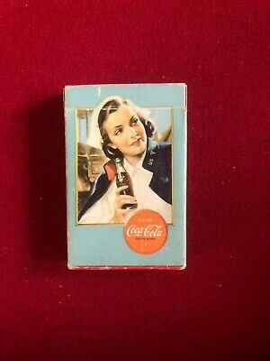 """1943, Coca-Cola, """"Spotter"""", """"Single"""" Playing Card   (Scarce / Vintage)"""