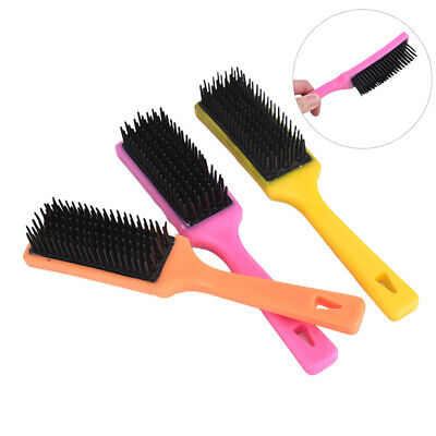 Mane and Tail De-tangle brush Tangle Wrangler Horse Cleaning Tool Massage Gro_sw