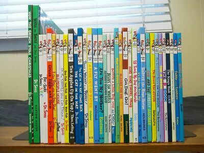 Lot of 35 Dr. Seuss Beginner and Bright and Early Books - Tubby and the Lantern