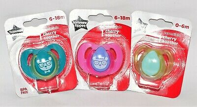 Baby Soother Pacifier Dummy Pack Of 1 Cherry Soother 6-18 Months