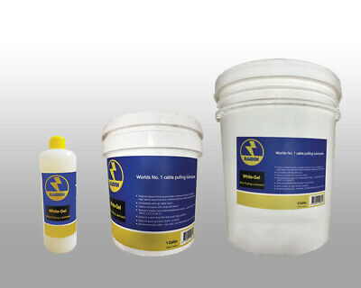 Radient Wire and Cable Pulling Lubricant Premium Synthetic Polymer Ltr & gallon