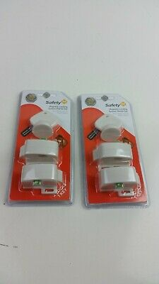 2x Safety 1st Magnetic Locking System Starter Sets | 4 Locks & 2 Keys | HS130