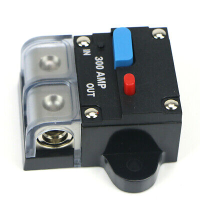 DC 12V Universal Car Auto Circuit Breaker 200A-300Amp Audio Fuse Holder Switch