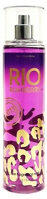 1 Bath & Body Works Escape Collection RIO RUMBERRY Fine Fragrance Mist Spray
