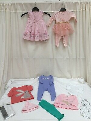 Baby Girl Clothes Bundle Job Lot 0-3 Months Exc Con - Lot 2