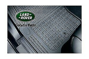 Land Rover Genuine Discovery 4 Rubber Mat Set 2013 Onwards