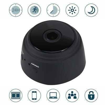 Mini Telecamera Ip 1080P Spia Microcamera Wifi Nascosta Infrarossi Wireless