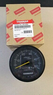 Yanmar 129574-91200 Tach/Hour Meter For 4Jh3 Turbo New Panel & 4Lh
