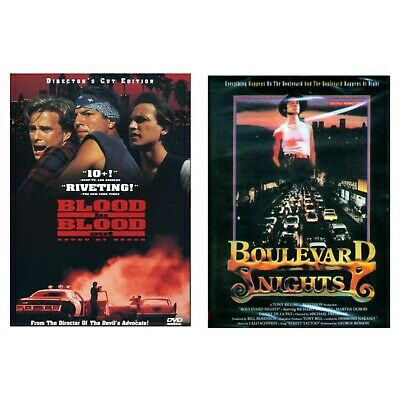 2 DVD's Blood In Blood Out + Boulevard Nights NEW Now Shipping Brand New Items!
