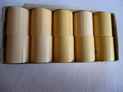#2 Japanese Scroll Roller End Caps, 5 Pairs