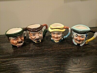 Huge Lot_28 Toby Type Mugs Pitchers Shakers etc