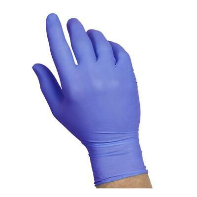 Blue Nitrile Powder Free Glove Gloves 100 Count Sysco