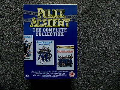 Police Academy 1-7 - The Complete Collection (DVD) 7 Discs