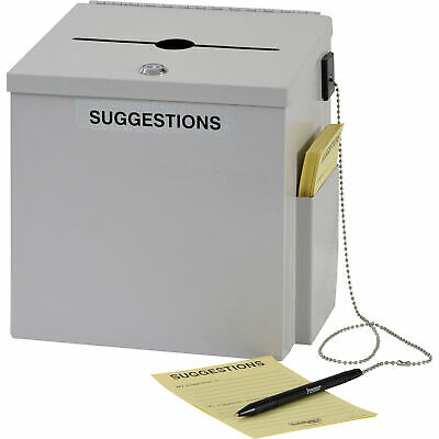 Sandusky Buddy Steel Suggestion Box, Model# 5620- 32