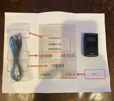 Koamtac KDC200i Bluetooth Barcode Scanner Amazon FBA iOS iPhone Android Windows