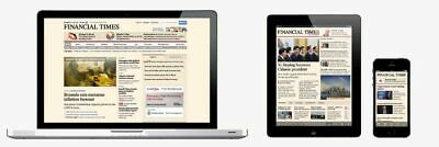 Financial Times Shared Premium 1 Year Digital Subscription PC, Table, Smartphone