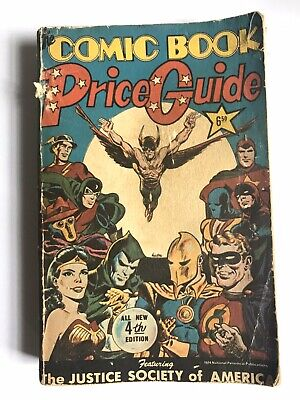Overstreet Comic Book Price Guide 1974 4th Edition