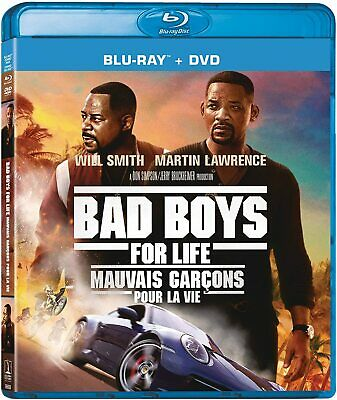 Bad Boys For Life BLU-RAY + DVD + SLIPCOVER -Brand New & Sealed!